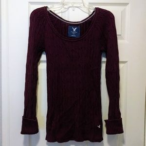 AE cable knit sweater, EUC!**2 for $10 sale**